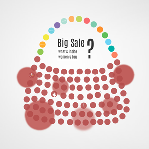 Big Sale Shopping Bag - Prezi Template