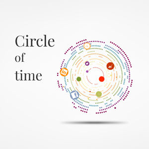 Circle of Time - Prezi Template