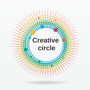 Creative Circle - Prezi Template