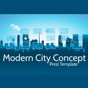 Modern City Concept - Prezi Template