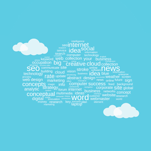 Tag cloud - Prezi Template