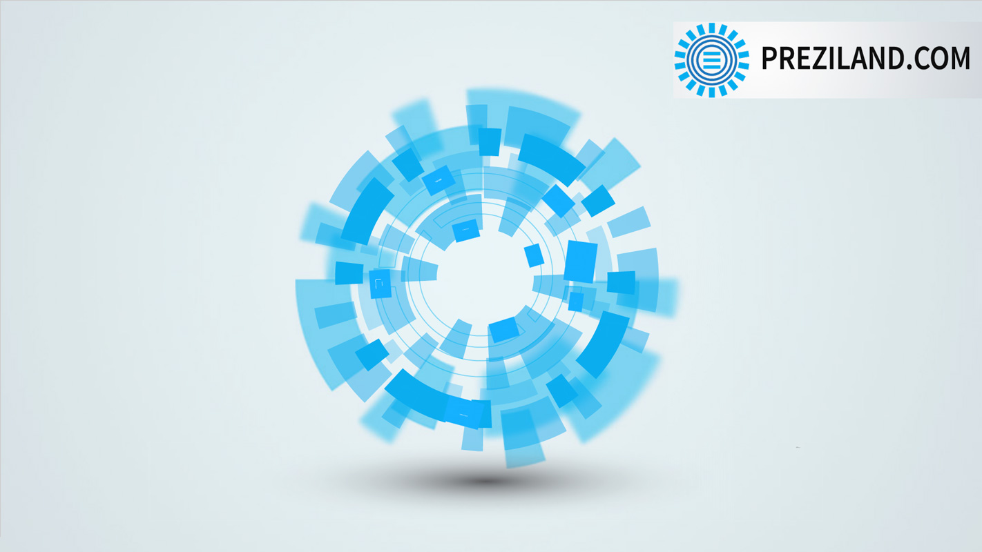 Animated Technology Prezi template