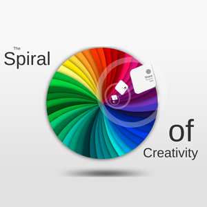 The Spiral of Creativity - Prezi Template