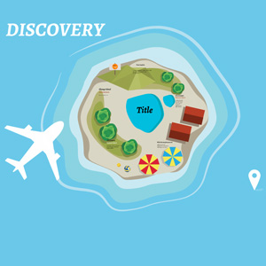 discovery island prezi template