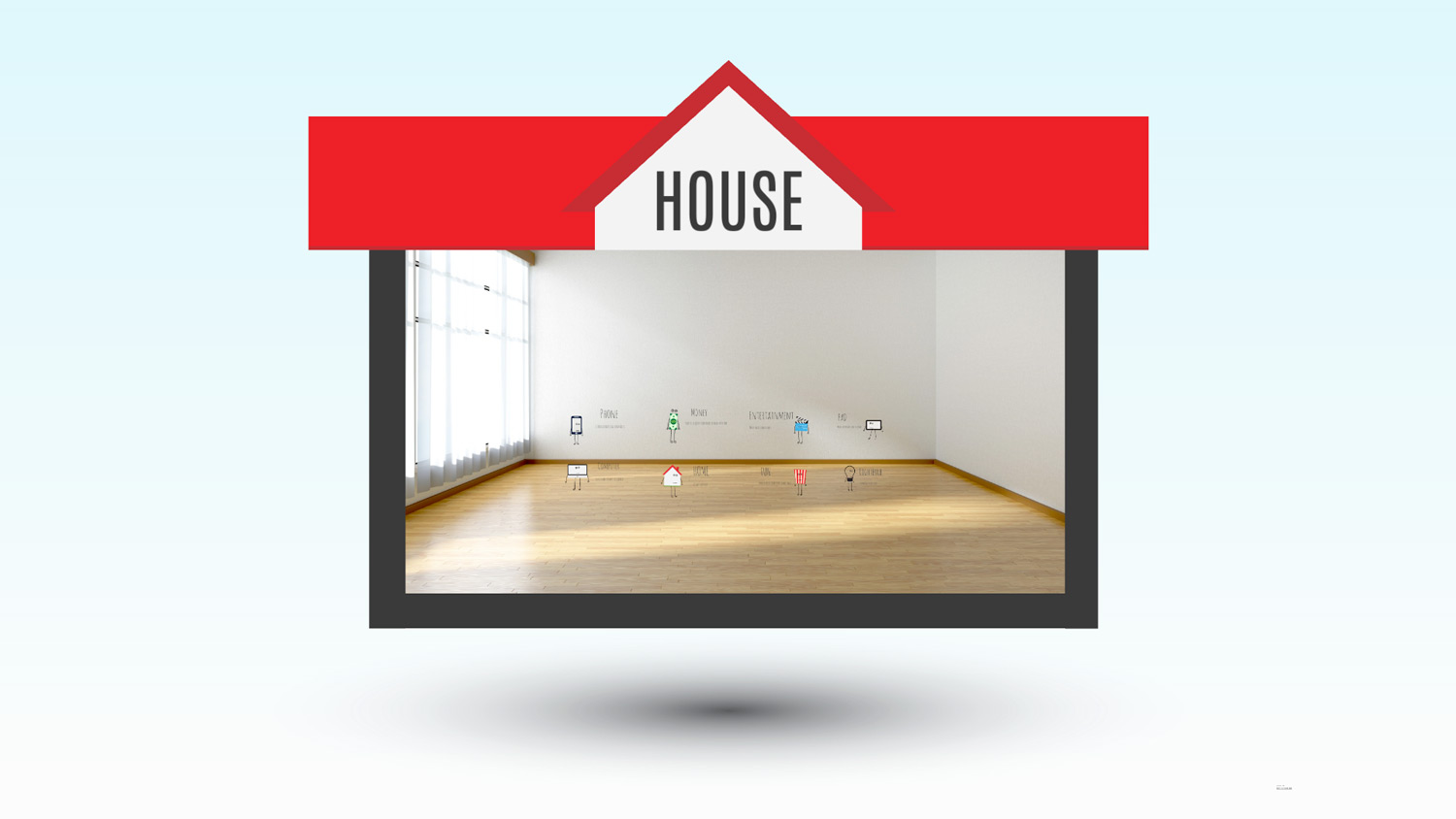 house project Prezi template