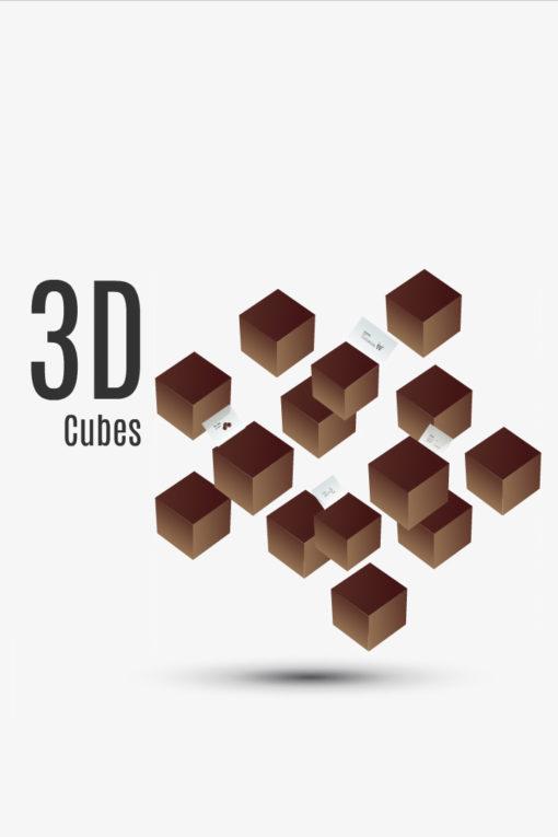 d cubes image