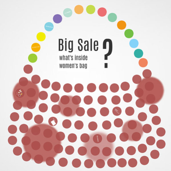 Big Sale Shopping Bag Prezi template