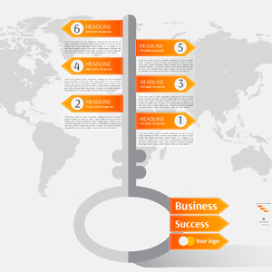 Business Success Prezi template