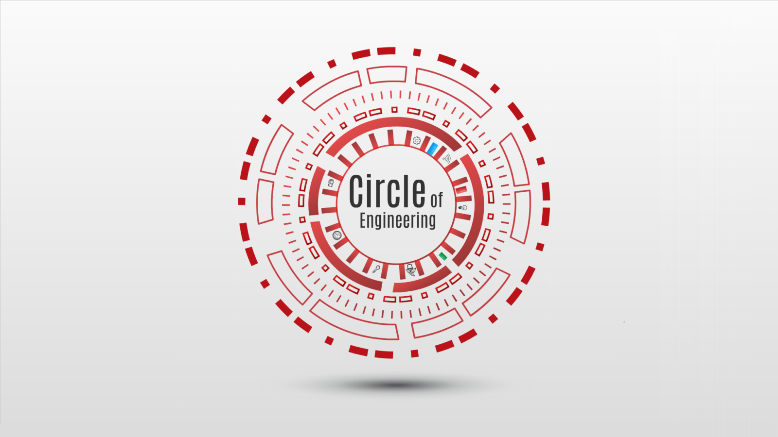 Circle of Engineering Prezi template