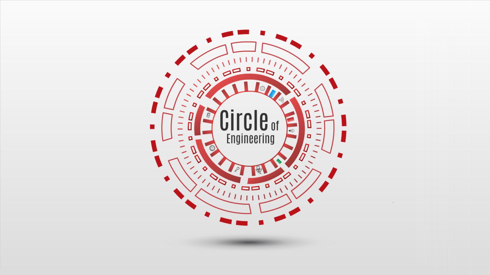 Circle of Engineering Prezi template