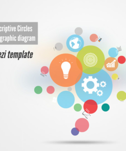 Descriptive Circles Prezi template