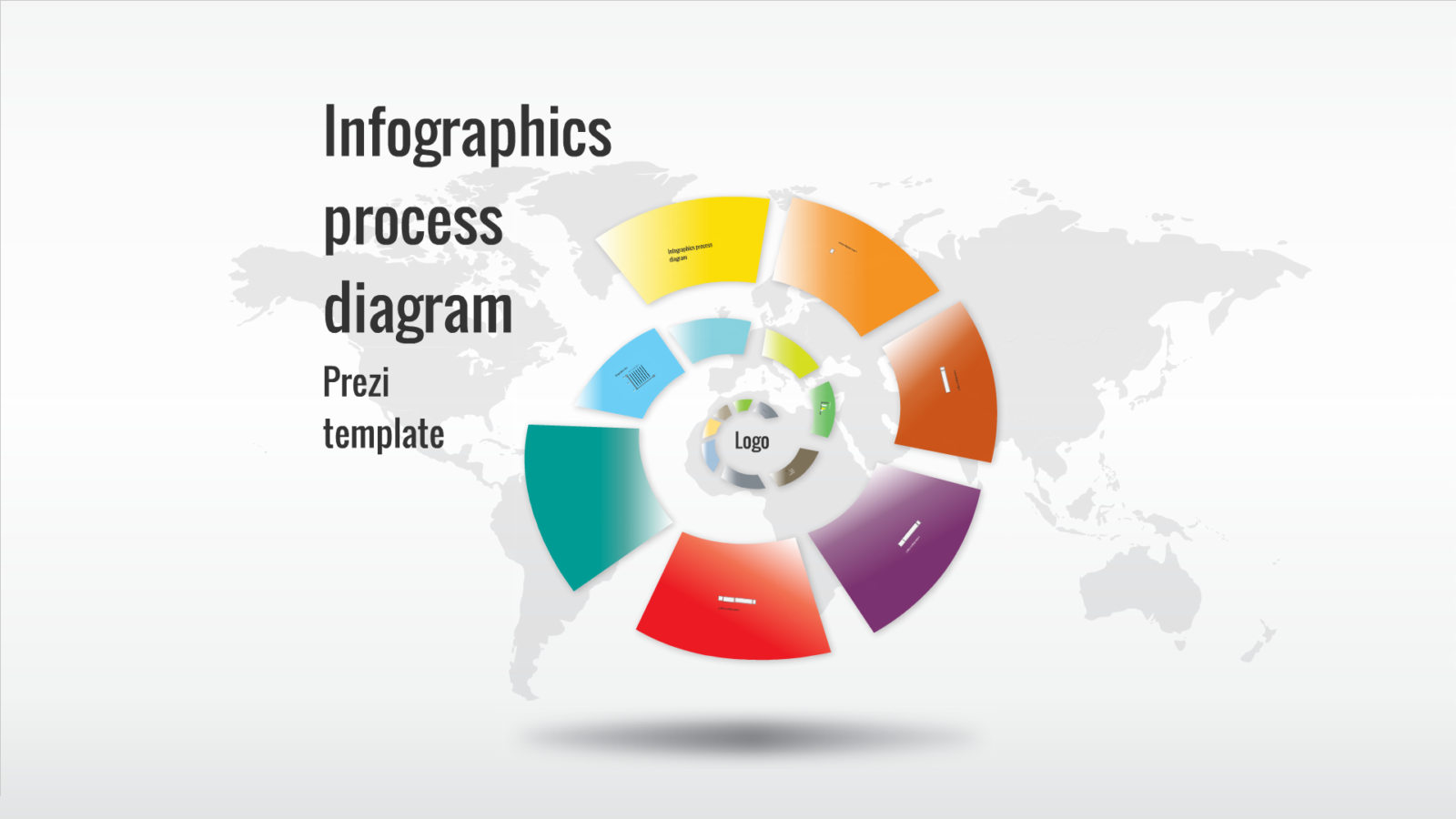 presi templates - infographics process diagram prezi template preziland