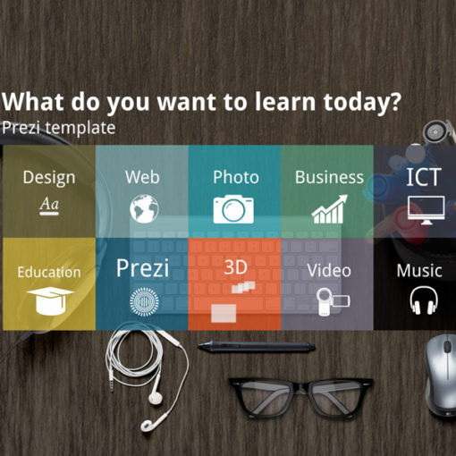 Learning question Prezi template