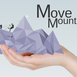 Move mountains Prezi template