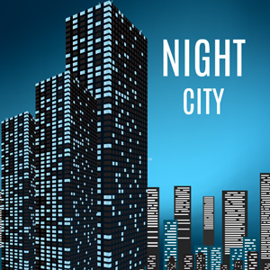 Night city - Prezi template