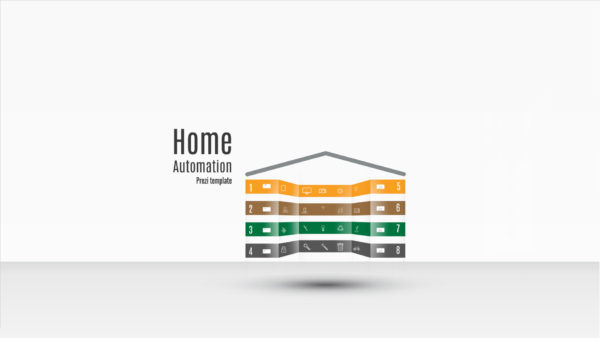 Prezi template Home automation