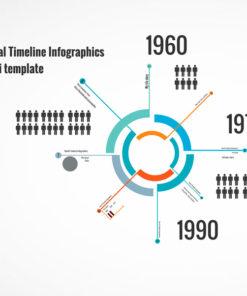 Spiral Timeline Infographics Prezi template
