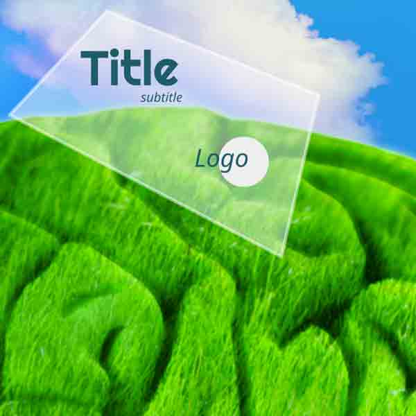 Think Green Prezi template