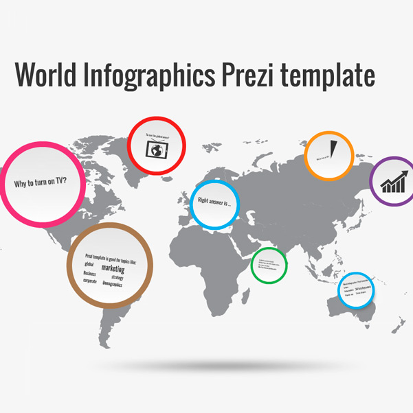 World Infographics Prezi Template | Preziland