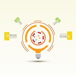 Bright idea Prezi template