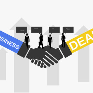 business deal free Prezi template