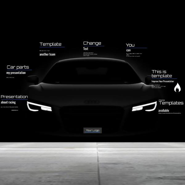 Car Presentation Prezi Template Preziland