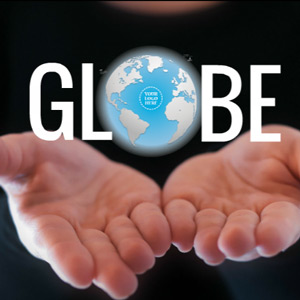 globe Prezi template
