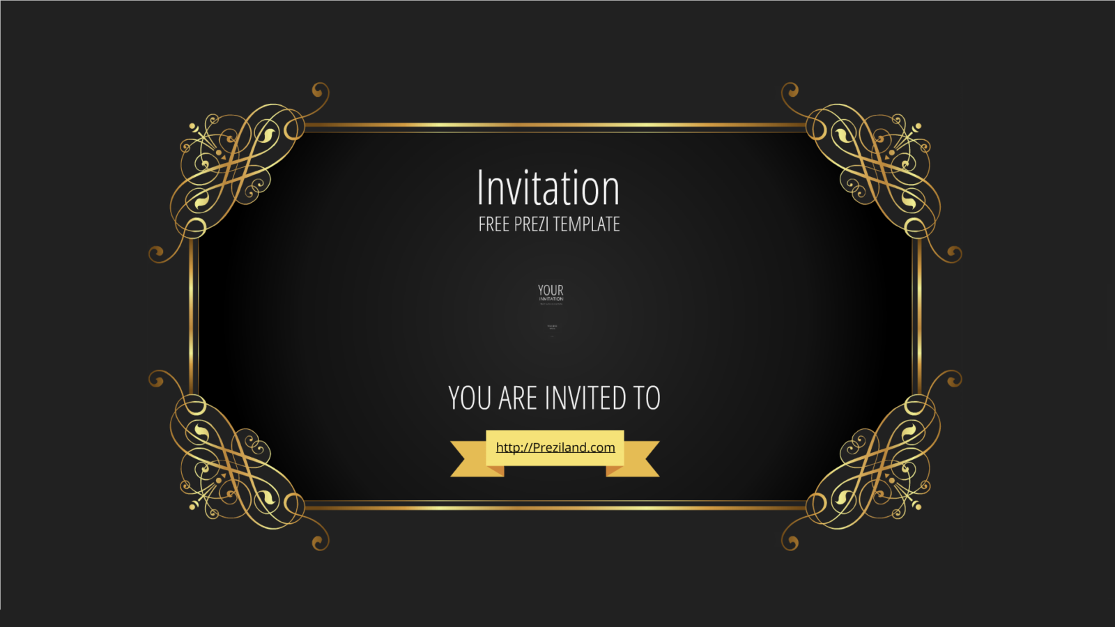 Free Prezi template Invitation – Template Invitation