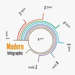 modern infographic prezi template