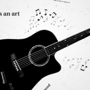music prezi template