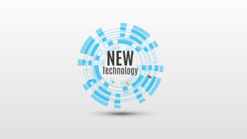 new technology prezi template