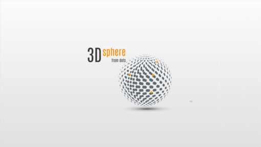 prezi template 3d Sphere
