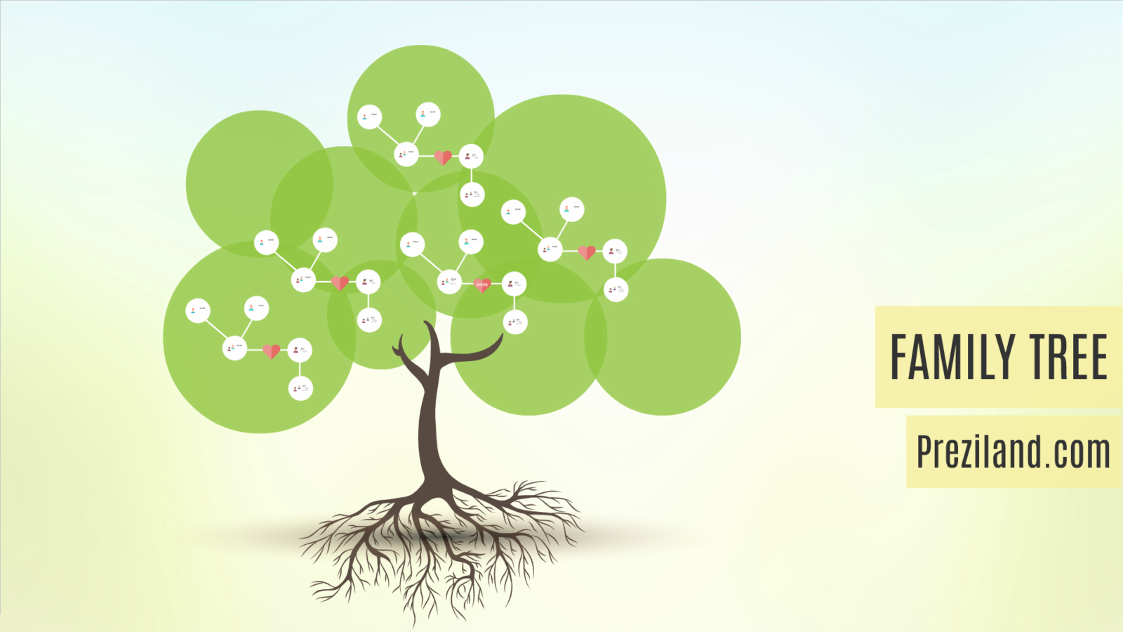 family tree prezi template