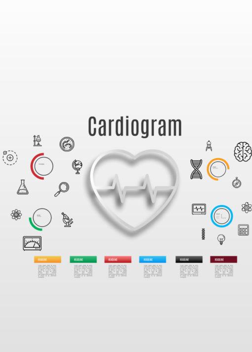 prezi template cardiogram