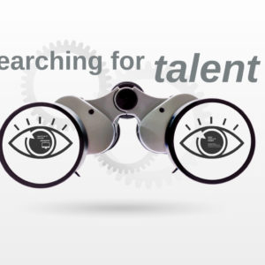 searching for talent prezi template