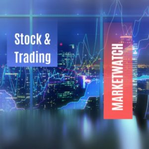 Stock and trading Prezi template