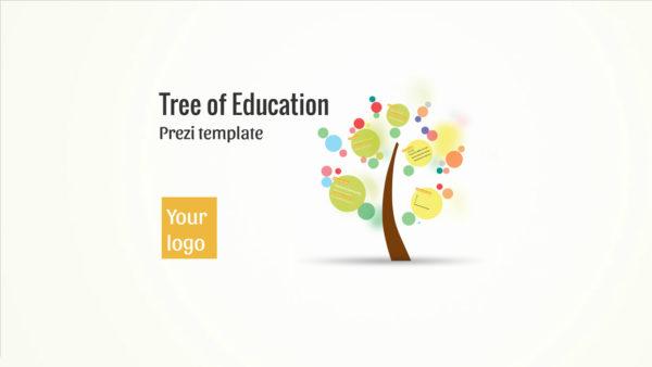 tree of education prezi template