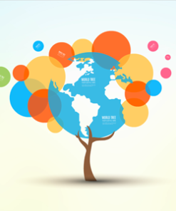 Tree Of World Prezi Template